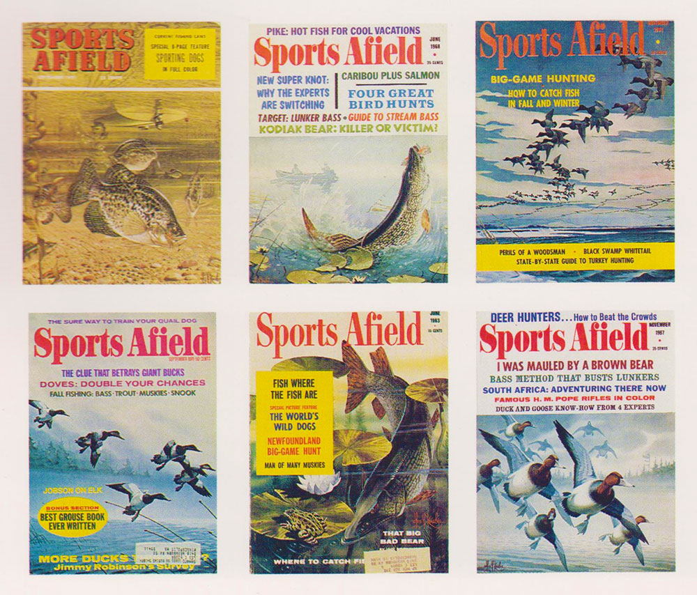 Les Kouba's Sports Afield Covers