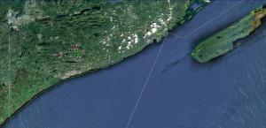 Les Kouba Outdoors, MN DNR, Moose Mortality GPS