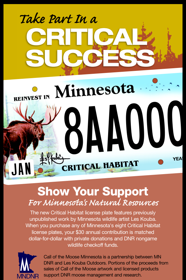 Call of the Moose - Les Kouba Campaign with the MN DNR