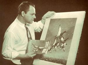 Les Kouba's First Sports Afield Cover Artwork