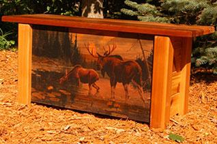 Les Kouba Inspired Bench